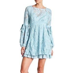 free people | nwt rubi lace mini dress with slip